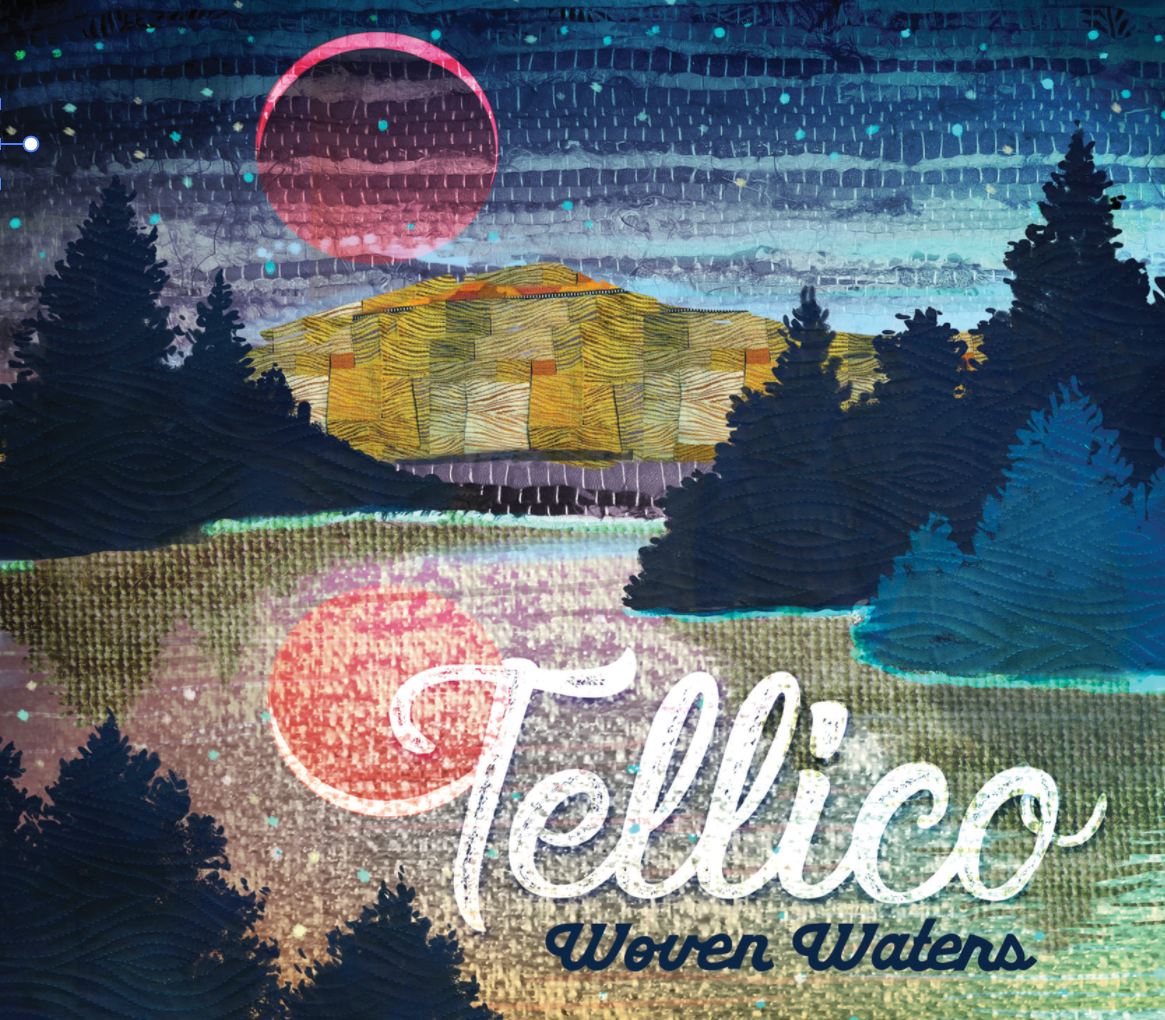 Tellico's second album,  Woven Waters,  produced by renowned Celtic artist John Doyle