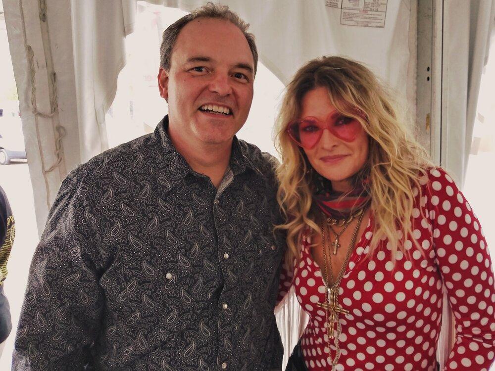 Joe Kendrick and Elizabeth Cook at MerleFest 2019