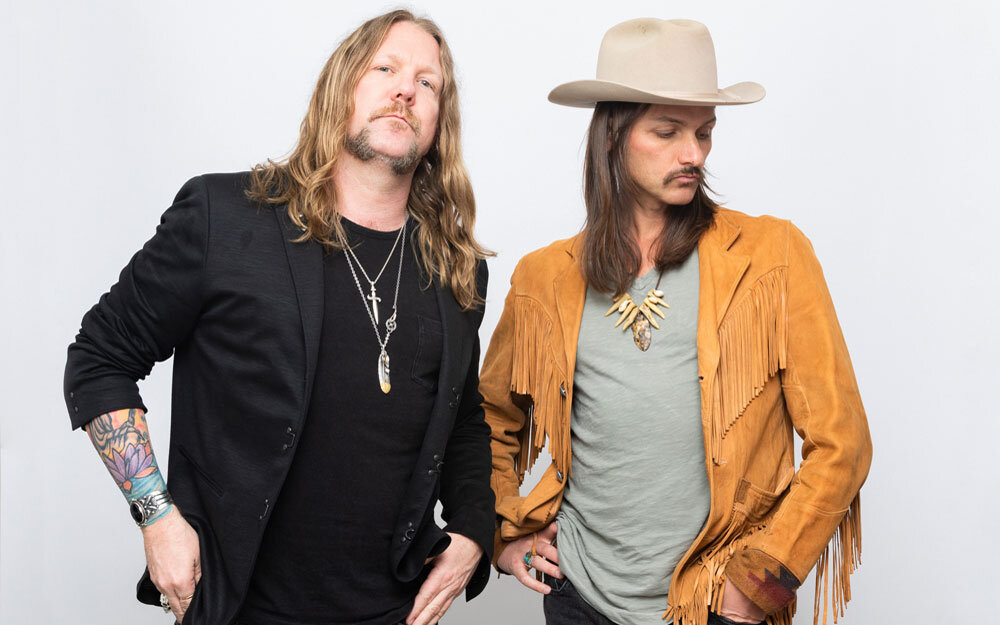 Devon Allman and Duane Betts of The Allman Betts Band.
