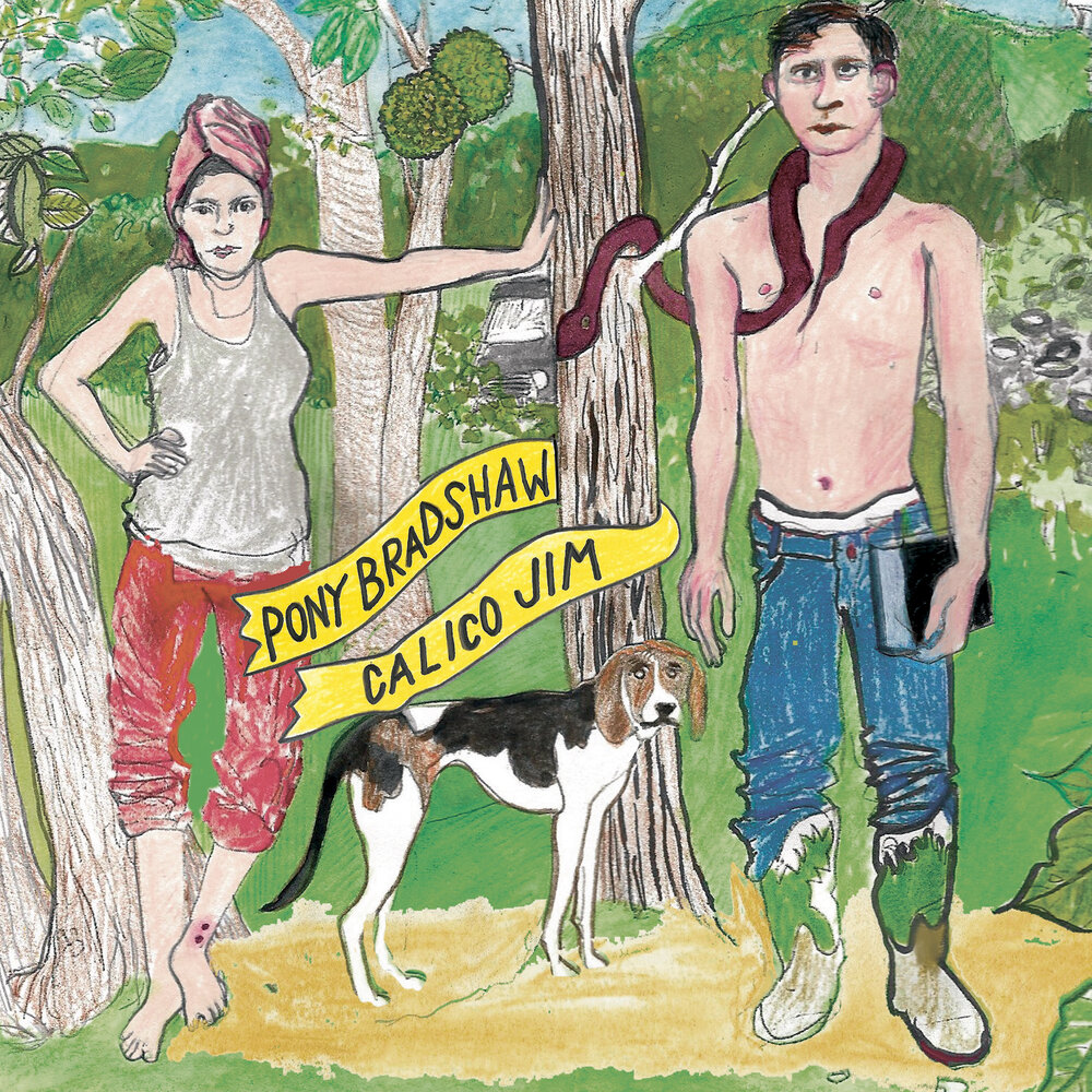 Album art for Pony Bradshaw's album  Calico Jim