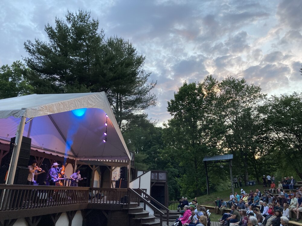 The Jerry Douglas Band performs at Hazel Robinson Amphitheatre in Asheville, NC 06-03-21