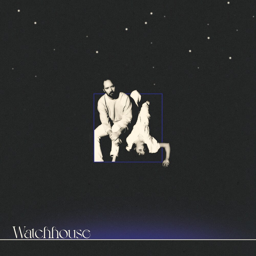Andrew Marlin and Emily Frantz on the cover of their self-titled album  Watchhouse