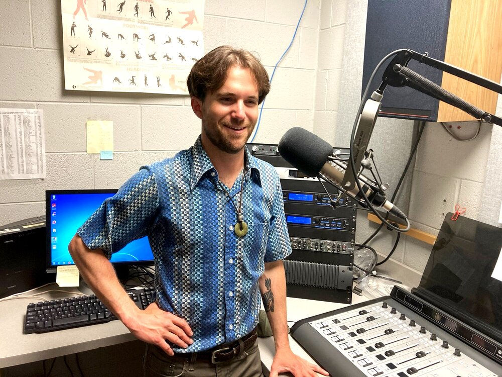 Shay Martin Lovette in studio at WNCW 05/05/21