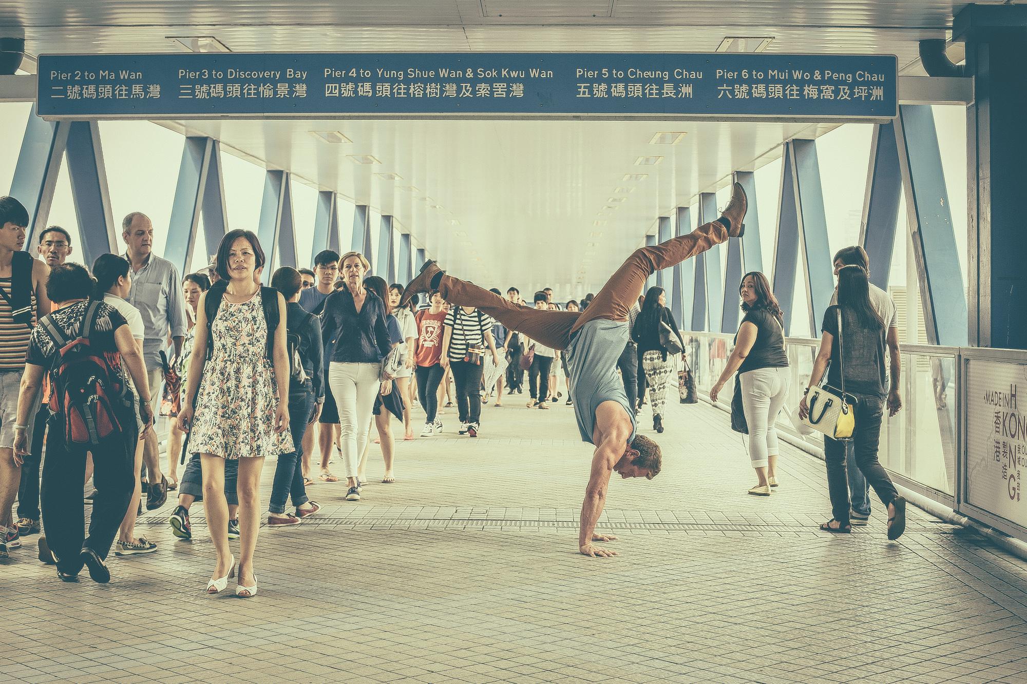 Darrel Erxleben, Personal Trainer and Yoga Teacher living in Hong Kong