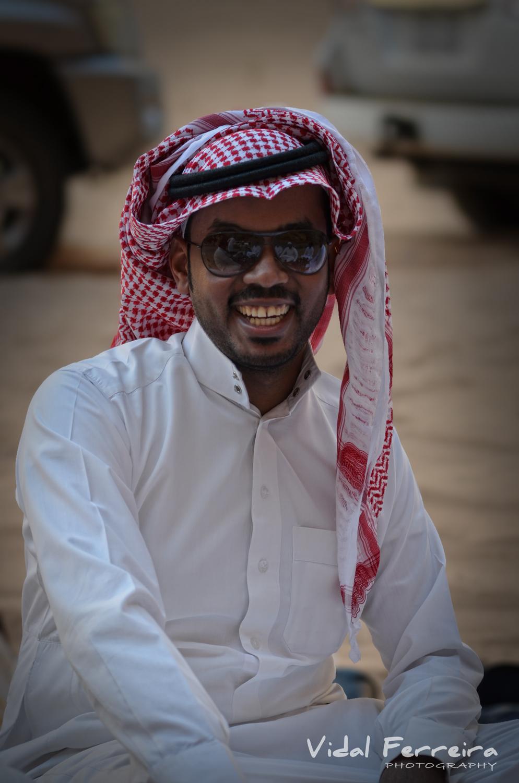 The Arab - Mada'in Saleh, Saudi Arabia