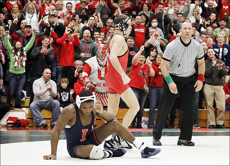 Logan Steiber is going for his 4th straight NCAA title, but the Buckeyes have even bigger plans.