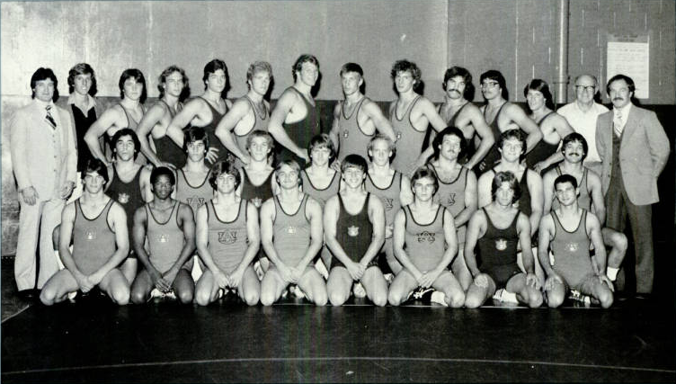 The 1980-81 Auburn Wrestling Team that won the SEC and finished in the top 10.