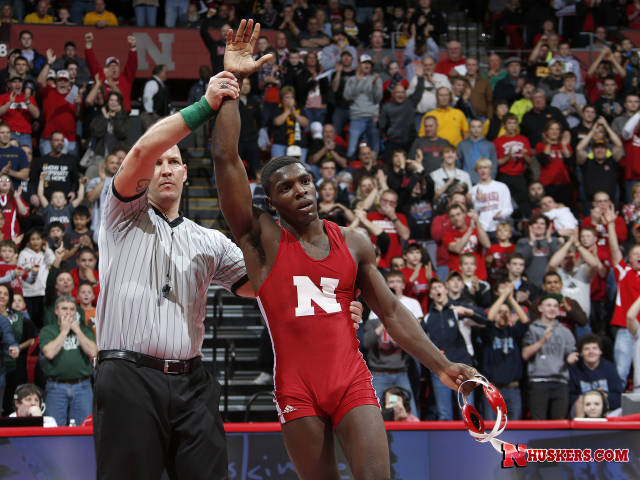 James Green picked up his 100th career win against Maryland this Sunday.