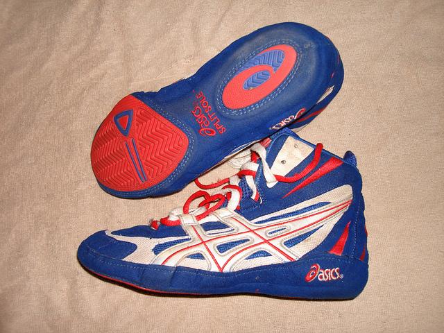 Wrestling shoes Important stuff