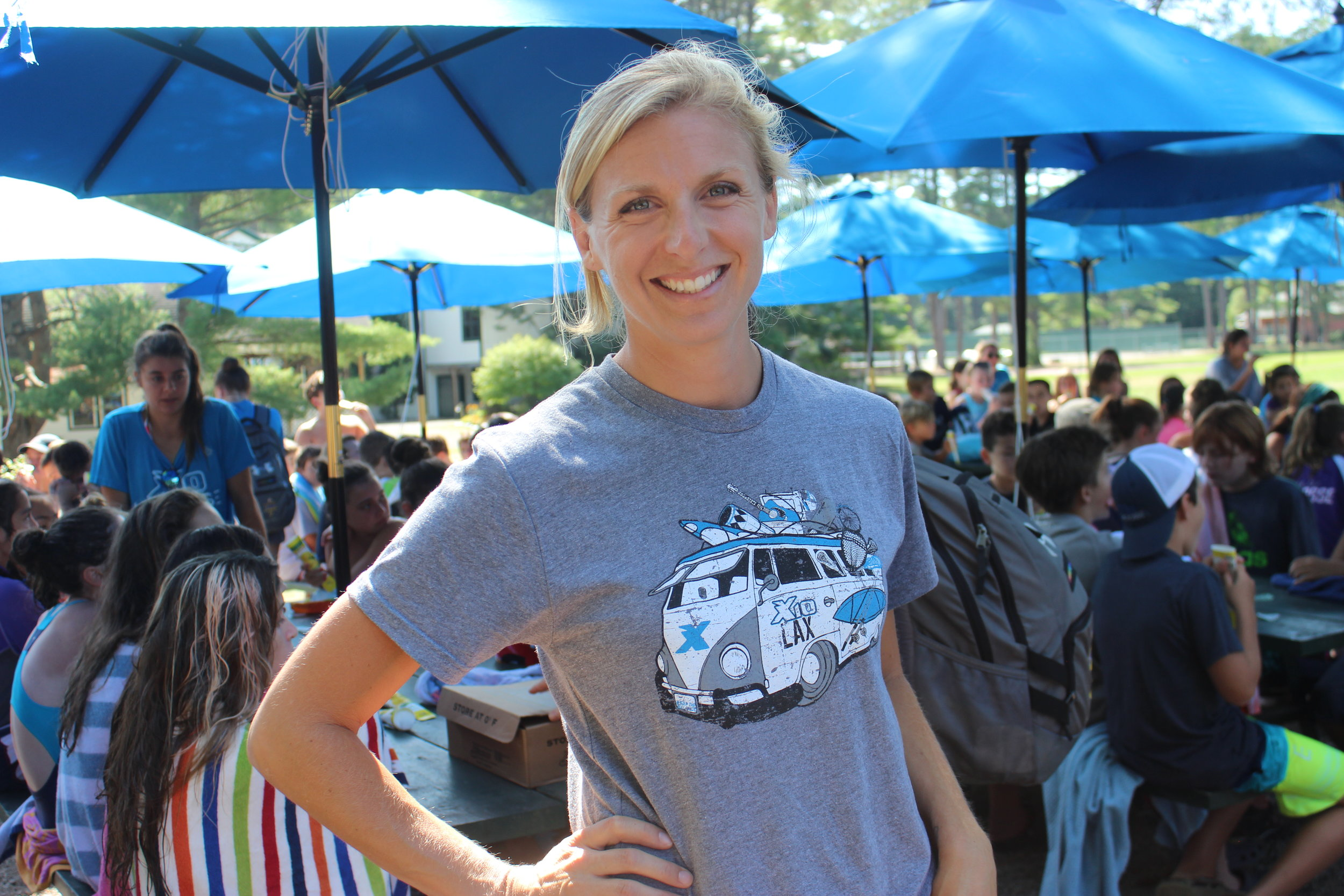 Camp Administration is handled by  Emily Bocklet  who holds a Masters in Sec. Ed. and has years of experience in overnight and day camps.