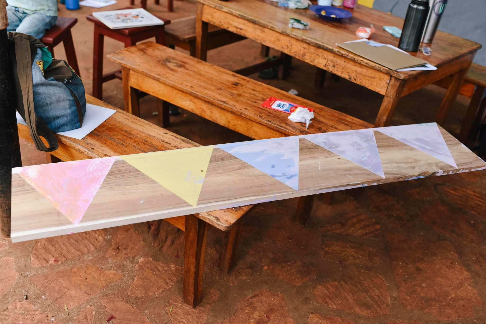 One of the completed panels. Photo credit Ekisa Ministries