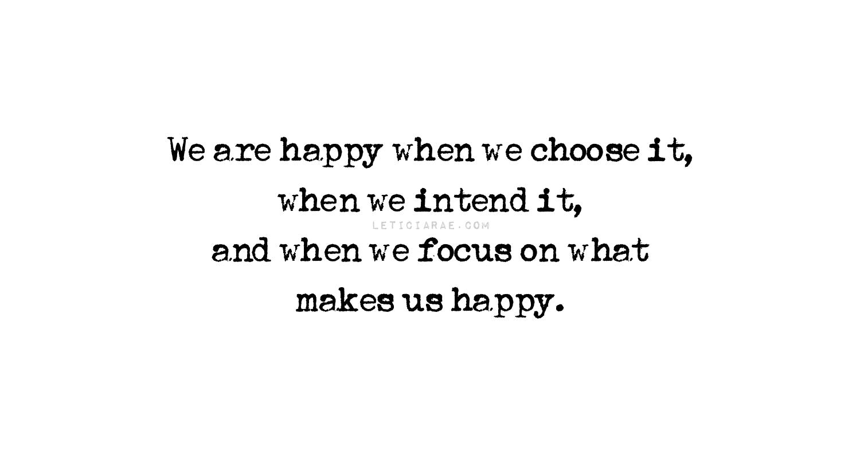 HappinessIntention