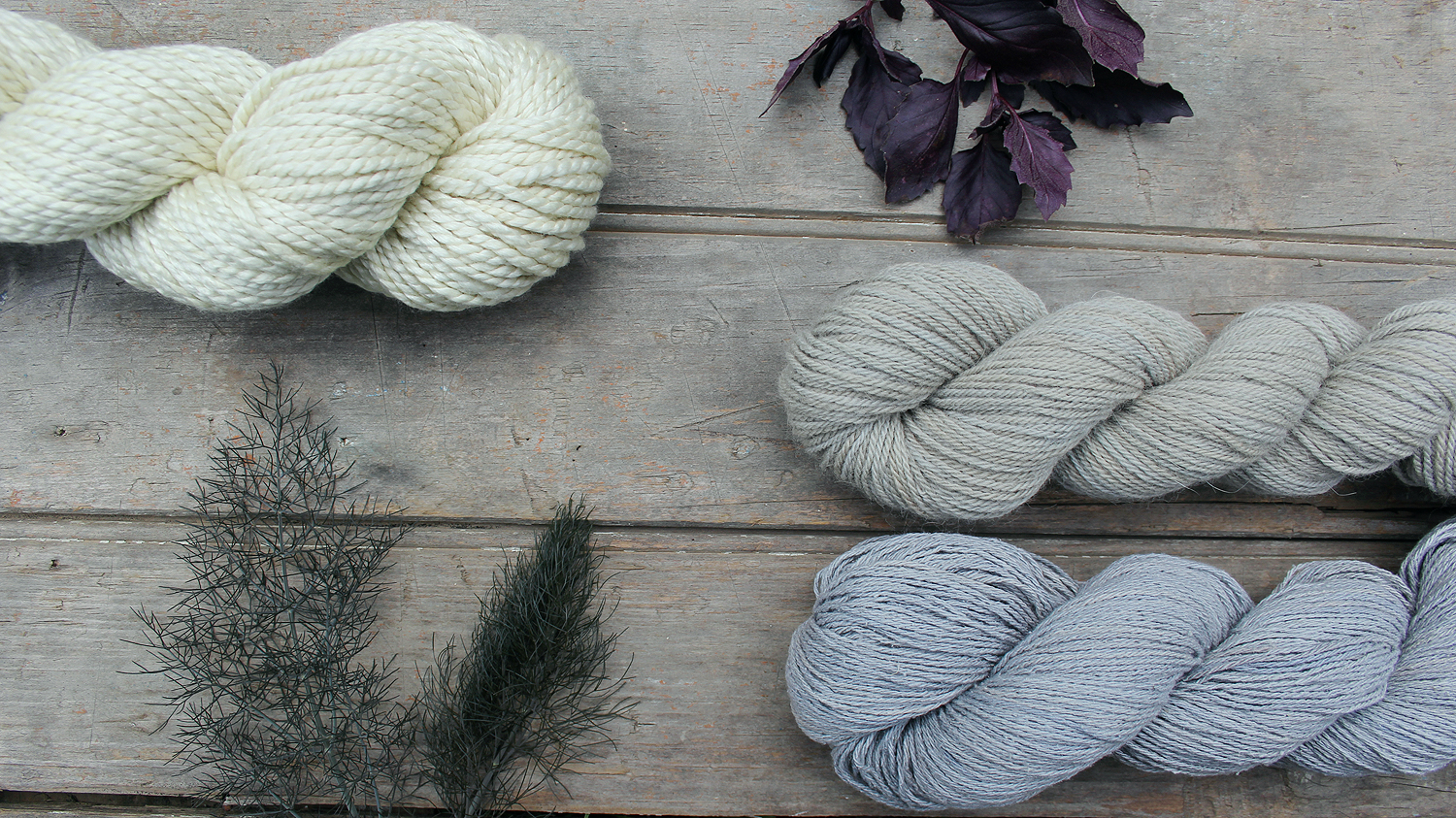 Liesl Made : Dyeing with Basil and Fennel