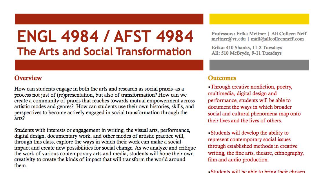 Curriculum Design - Teaching culture and media via emerging digital instruction technologies