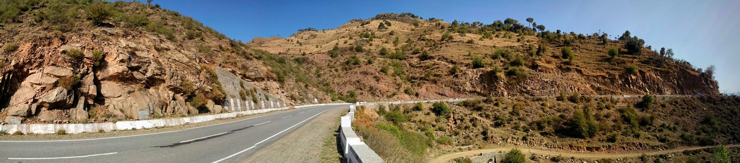 What beautiful roads.