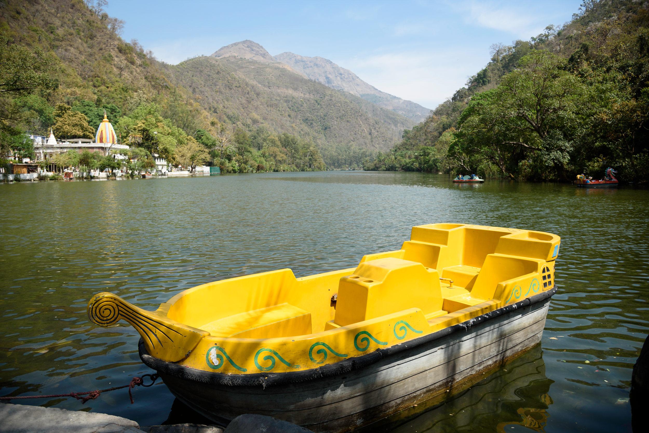 Destination reached : Renuka Lake.