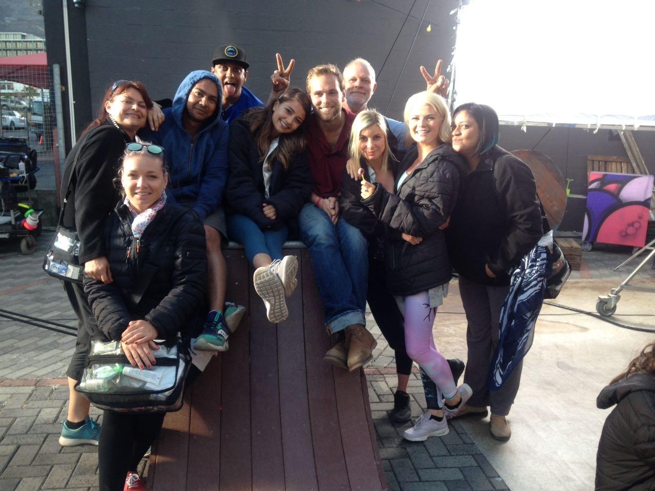 Killer team on the dance movie. #bringiton