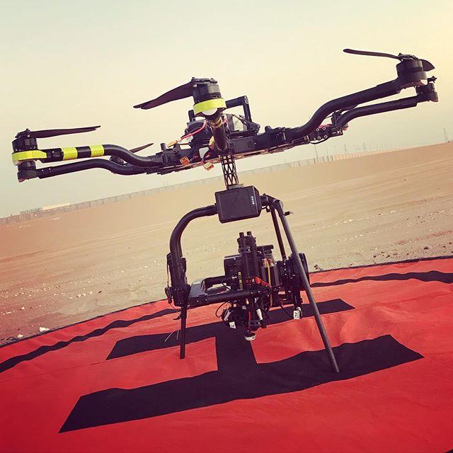Back in the sandbox with @choppershoot shooting for #adudhabi and @rsafilms w #alta8 of course . . . #ridleyscott #aerialphotography #panavision #uae #dubai #dubaifilm #lifeonset #panavision #dronelife #dronephotography #dji #worldstoughestdrone #freefly #freeflyalta #alta #arri #arrimini #DRONEGEAR #panavisionlenses #filmmake #freeflyers #freeflysystems #arri #movipro #film #mōvimethod #lighterisbetter #shotonred #droneporn #dronestagram