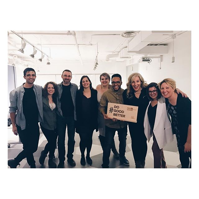 Just a bunch of people working to #dogoodbetter. So proud to be part of the @hubottawa community. Happy 5th! HUB has been a constant support in starting + growing my coaching business. And, I've met inspiring, fun + hard working people who care deeply about making the world a better place for everyone. This is my community. To 5 more year.. and then another 5 after that 🍾! #High5stories
