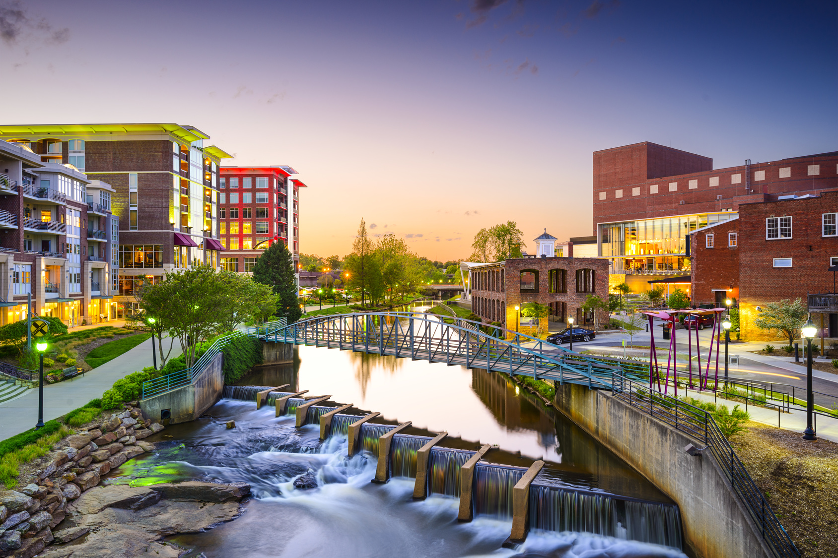 Greenville, SC Downtown