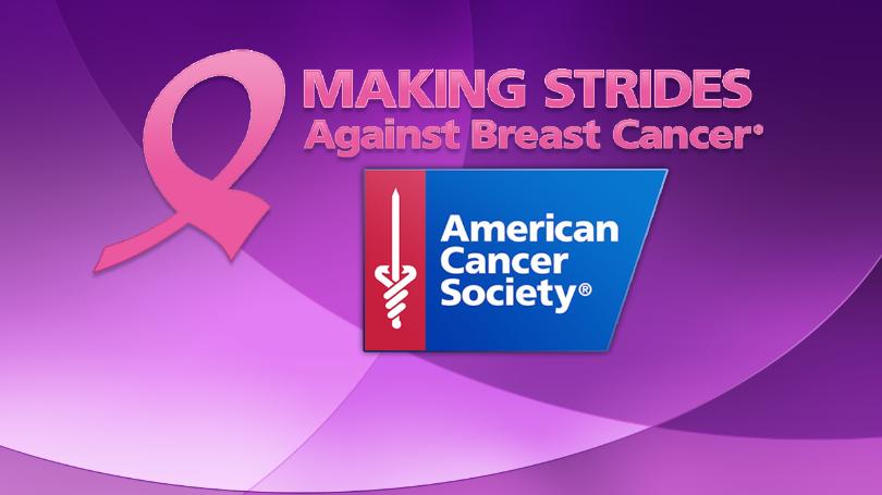 Making Strides - Against Breast Cancer.