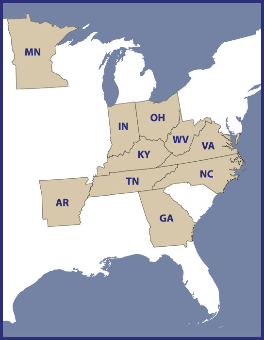 States in which Mr. Wheeler is licensed