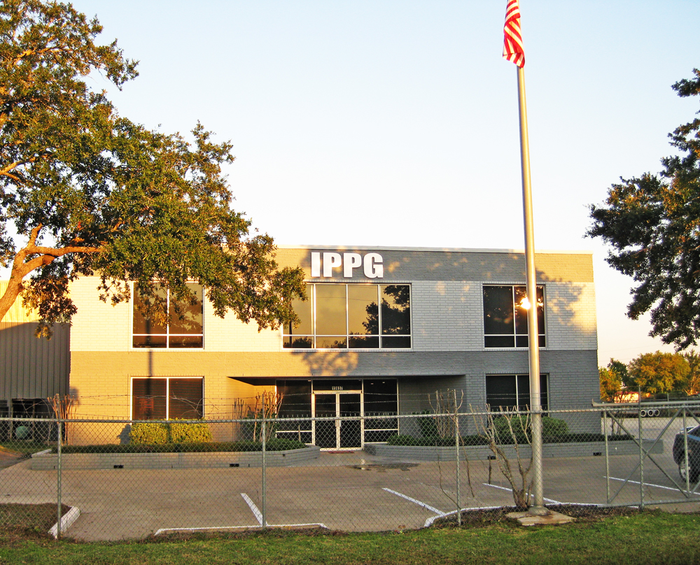 Custom Formed Plastic Letters with Matte Finish - International Piping & Procurement Group (IPPG), Sugar Land TX