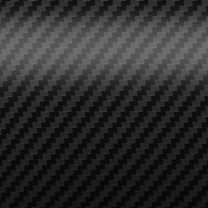 Straight Carbon Fiber Black
