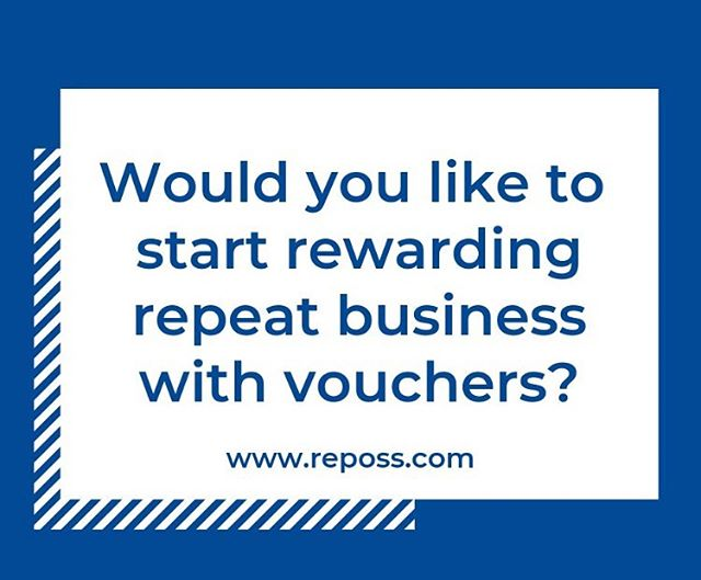 Vouchers and offers are a great way to encourage repeat business and build loyalty with your customers. I-Movo allows you to do just this, delivering customers offers through any media such as plastic cards or even mobile phones.  Find out more at reposs.com  #cardpayments #epos #cardpayments