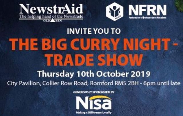 We are really looking forward to the curry night. If you are also attending come and say hello.  #independentretailer #nfr #tradeshow #nisaretail #ShopLocal #LSS19 #localshop #localshops #localshopsummit #localshopping #customerservice #retailers #independentretailers #retailer #convineancestore #newsagent #cafe #spotsclub #localcoffeeshop #localcafe