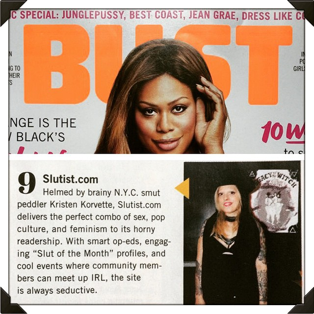 Bust Magazine June 2015