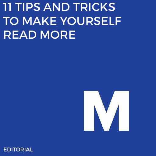 Reading is great. And this is one of the MashReads vertical's best-performing posts.