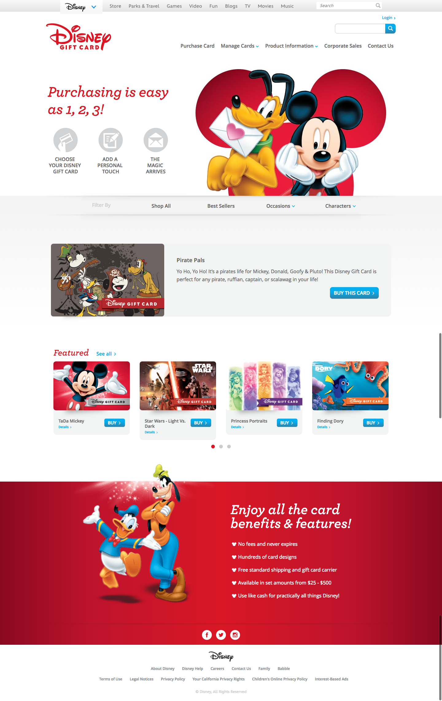 Pirate Pals Gift Card   Disney Gift Card.png