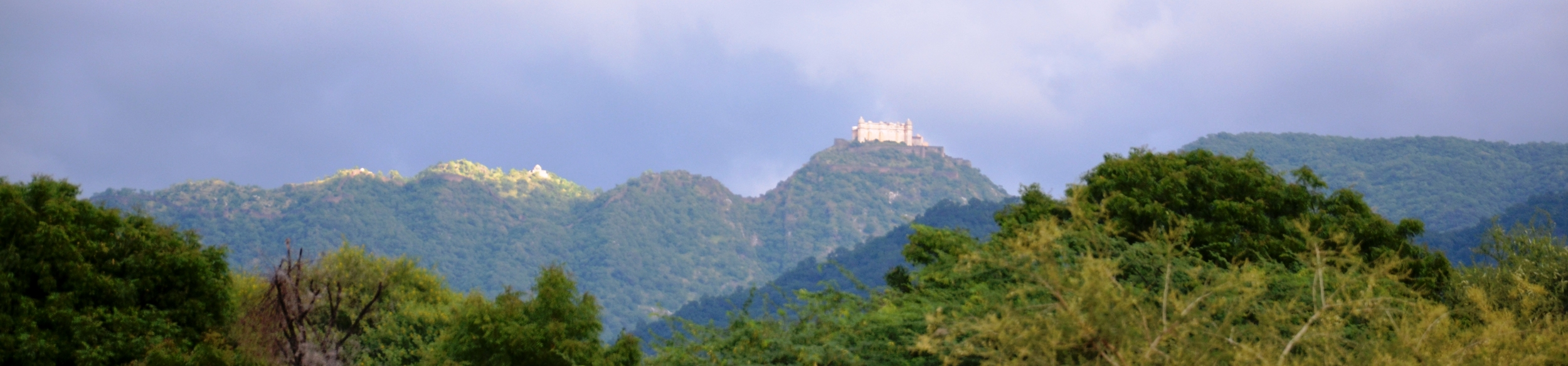 Kumbhalgarh Fort - as seen from LPPS campus