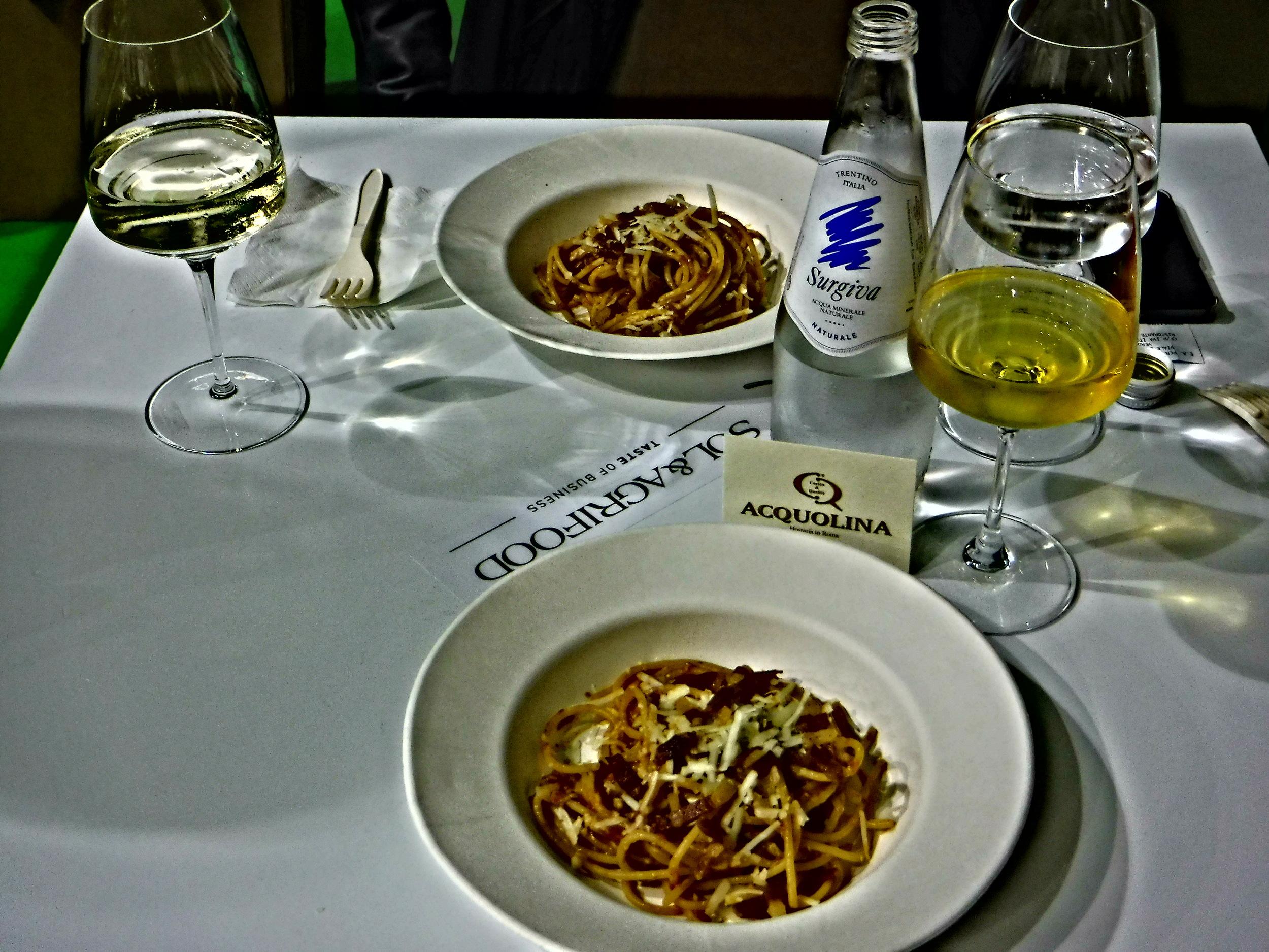 9.Sol&AgrifoodSpaghettiall'AmatricianaFrom RomanBioRestaurantIlConvivioTroaiani.JPG