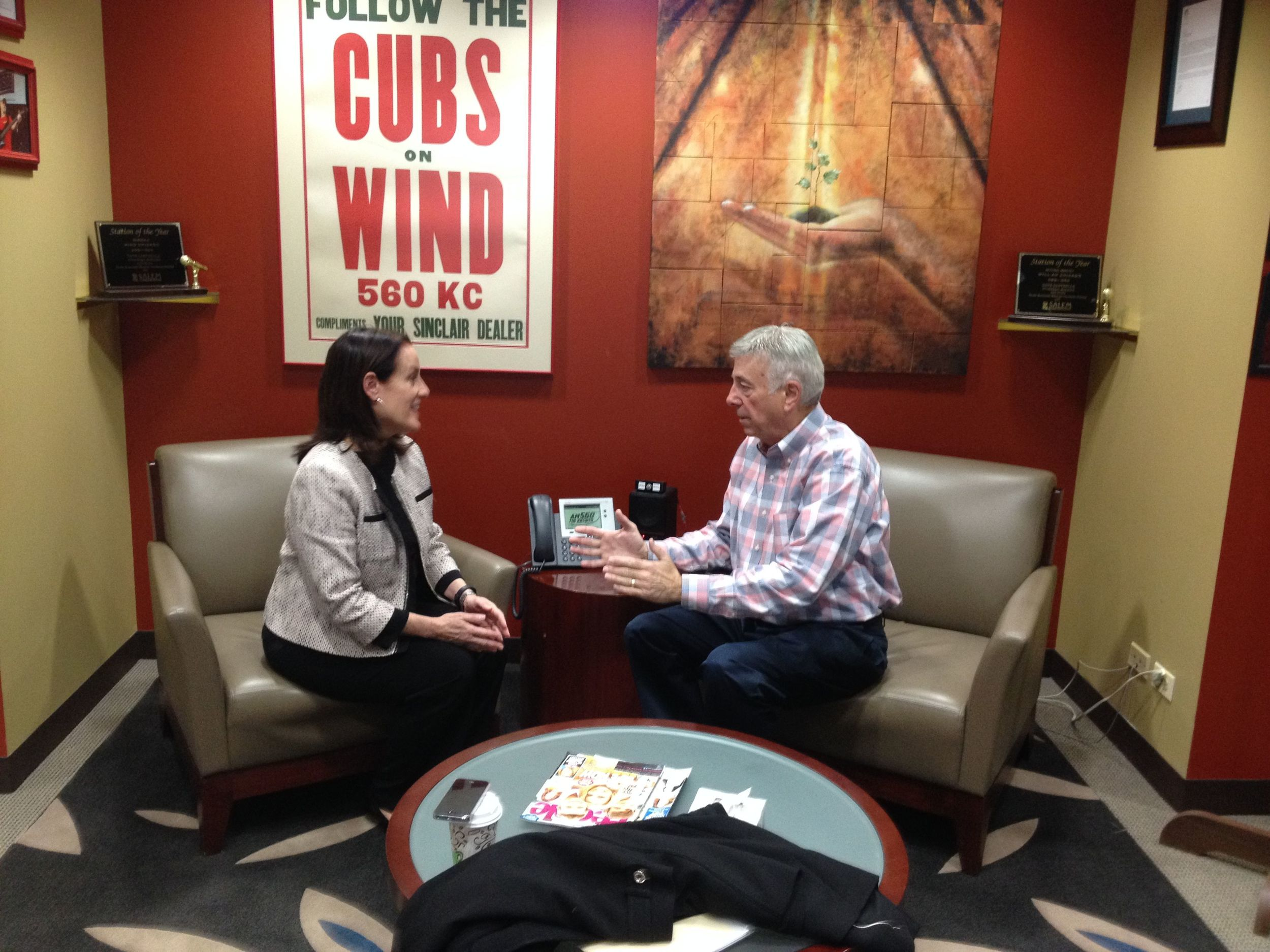 Host Dick Smith spotlights Villa Gabriella Organic Managing Partner Consuelo Martinez.JPG