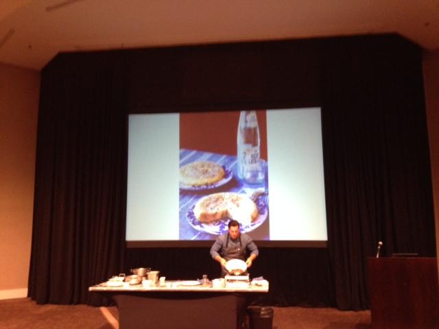 3. Chef Seamus Mullen flips laTortilla Española made with extra virgin olive oil.jpeg