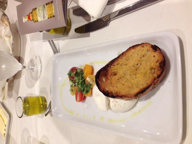 8. Perfect power pair; tomatos &  buffalo mozzarella finished with extra virgin olive oil.jpeg