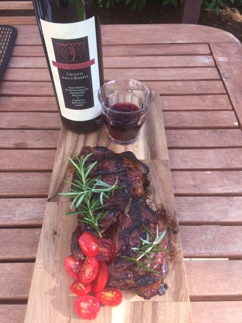 Balsamic BBQ Marinade- recipe  here !