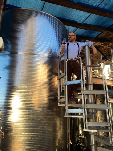 Luca at Stainless Steel Tank