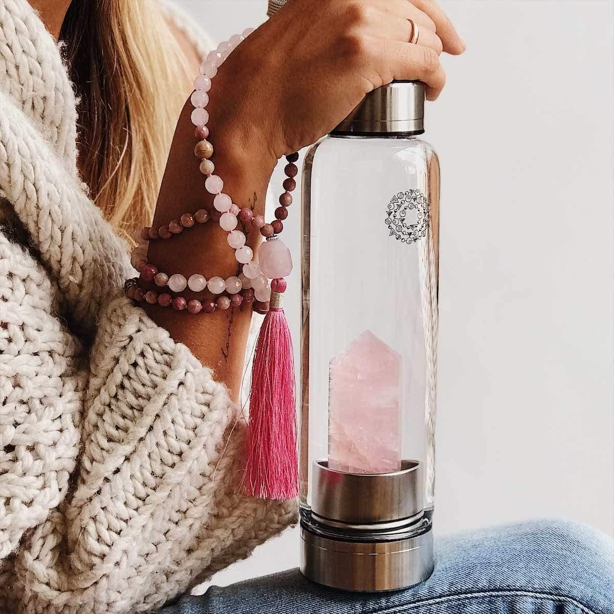 Manipura Mala Gem Bottle - Helen Turner