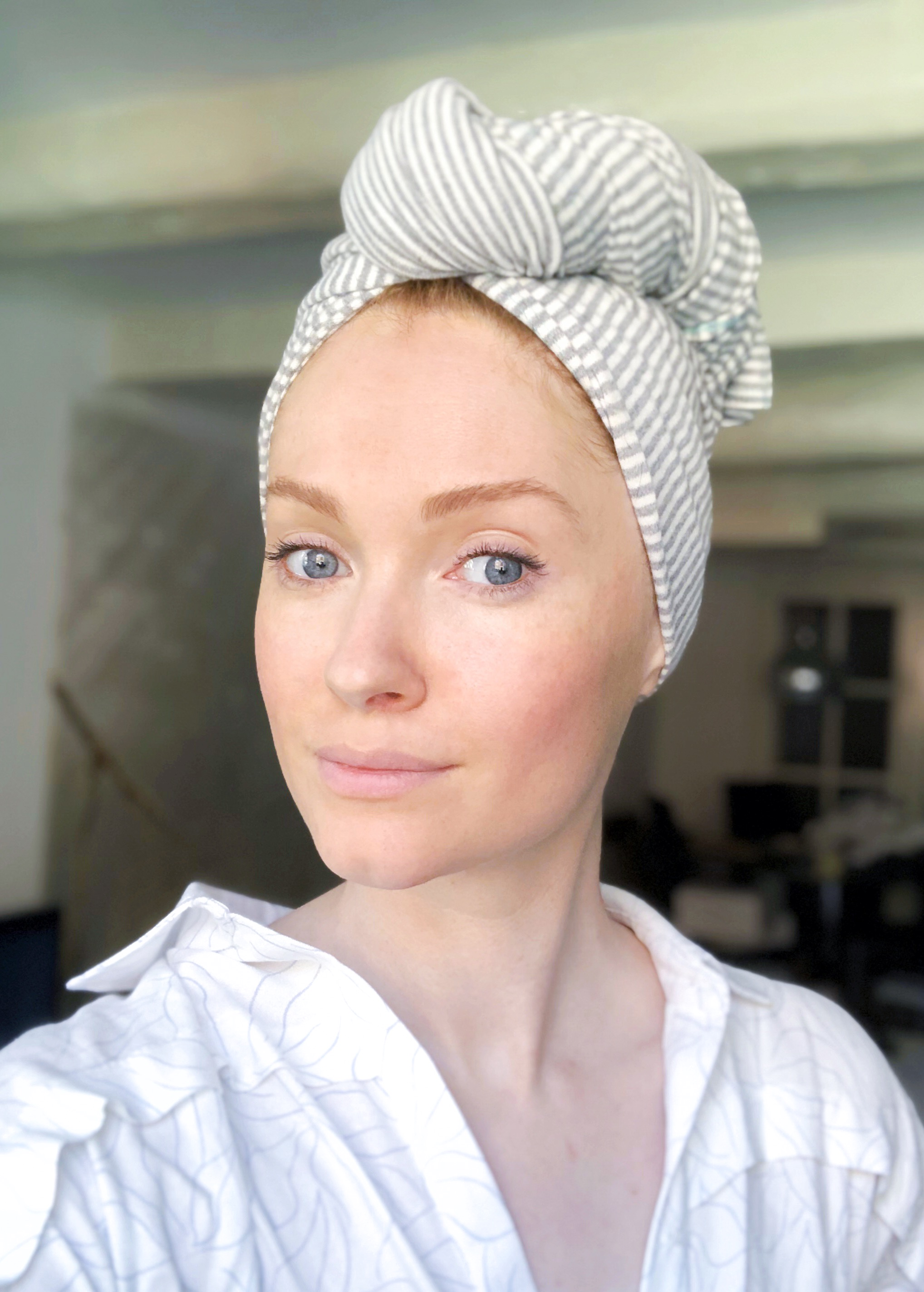 Organic Cotton Hair Towel - Helen Turner