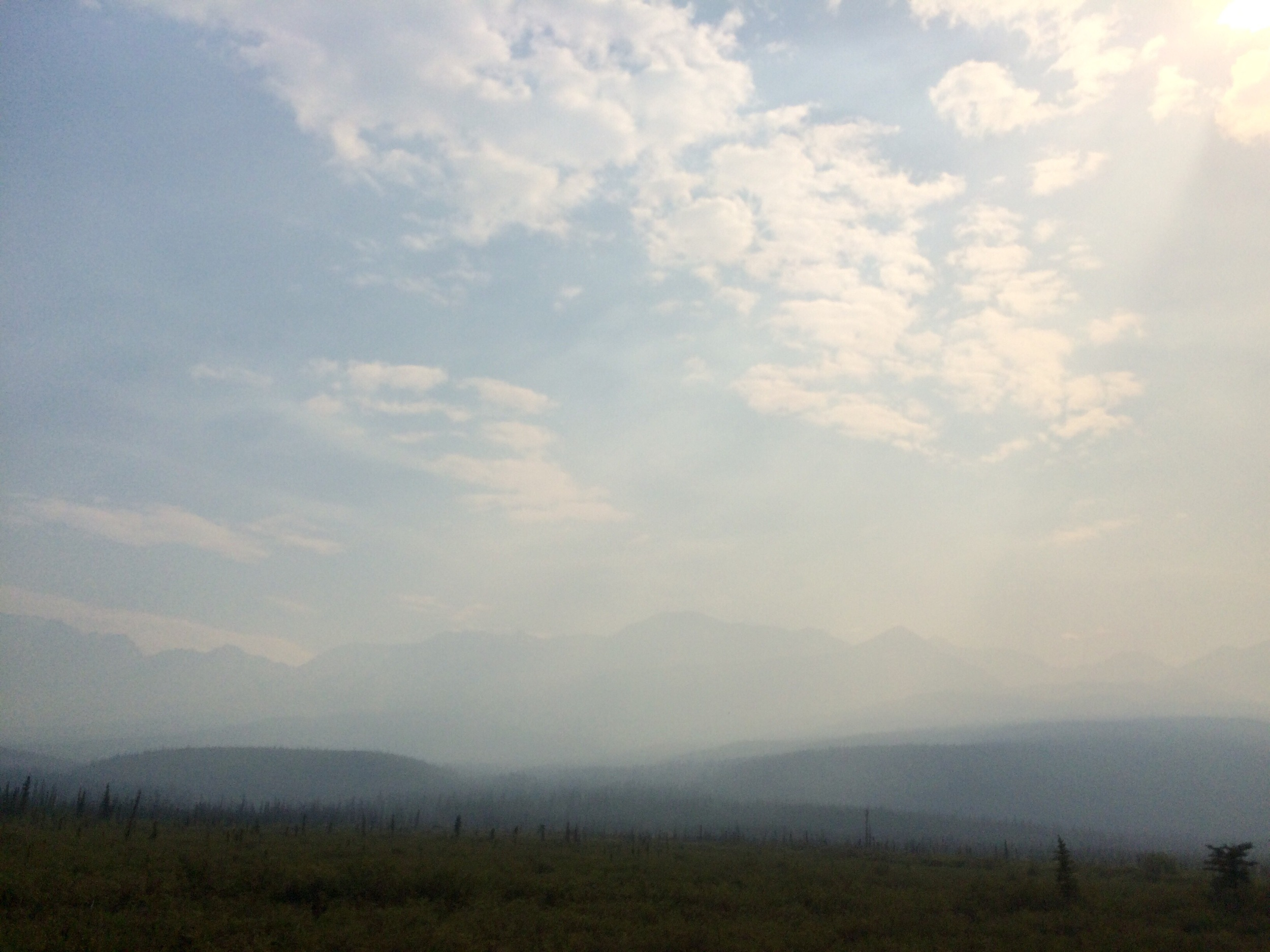 Smoke in Tanacross