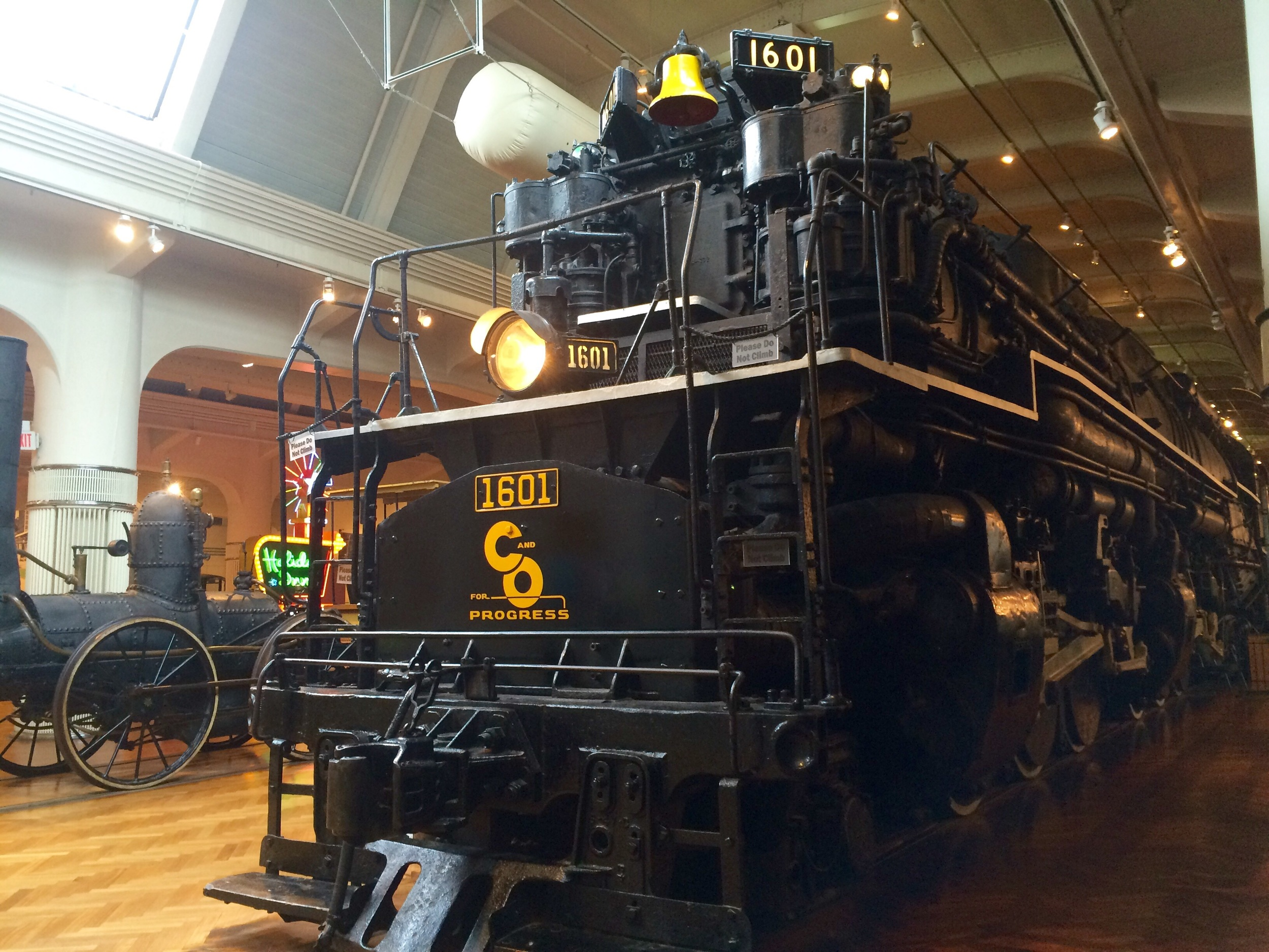 Allegheny locomotive