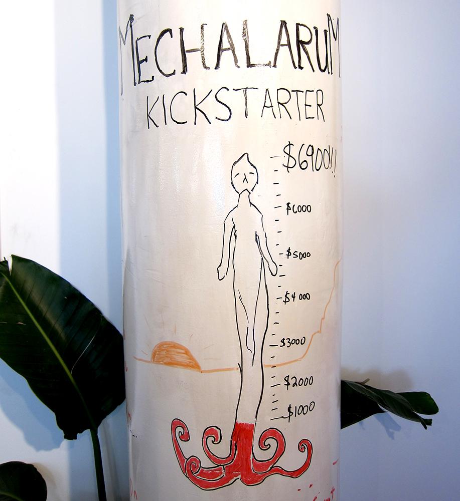 Kickstarter progress tracker!