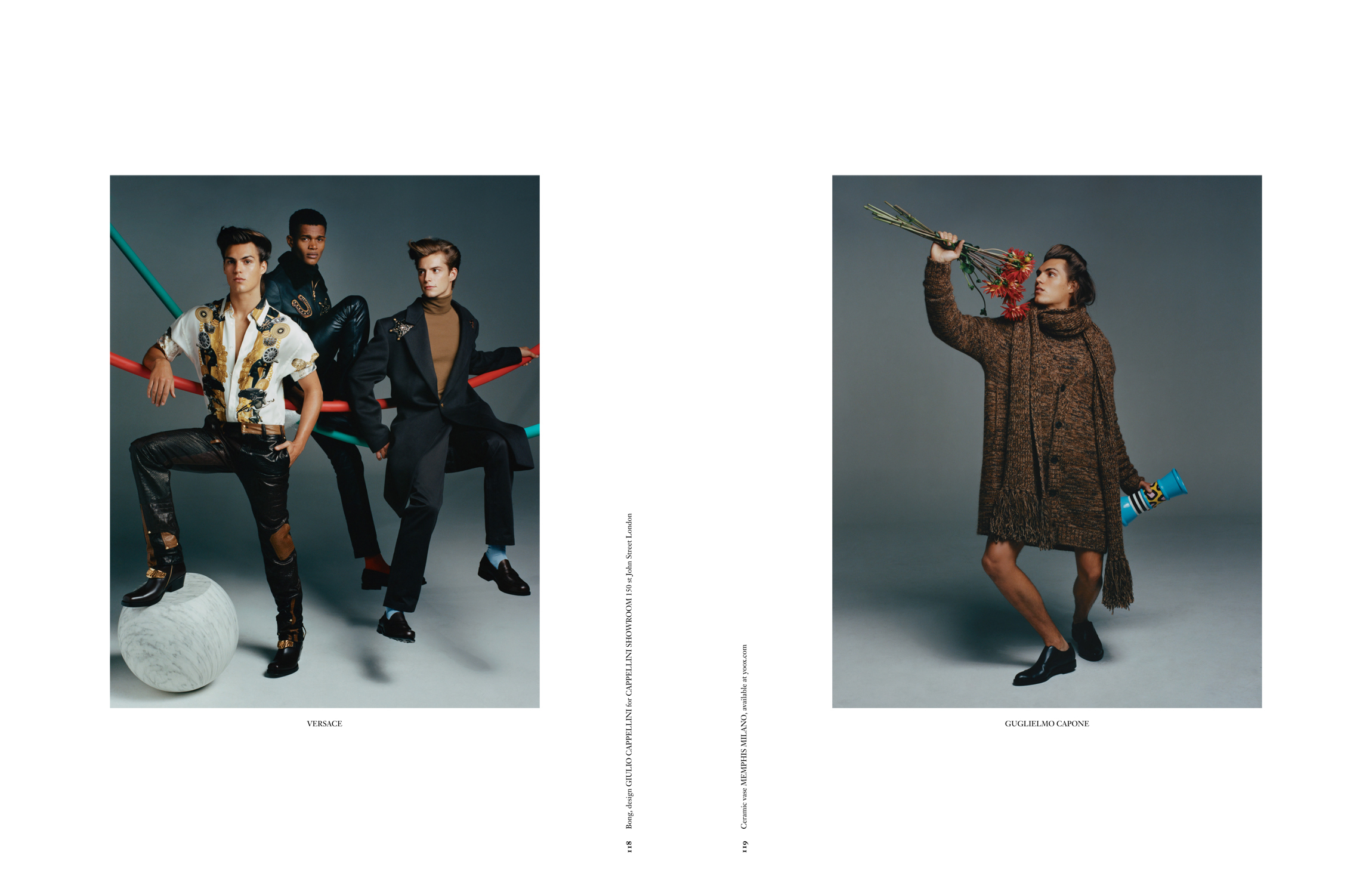ARENA HOMME + - OLIVER HADLEE PEARCH