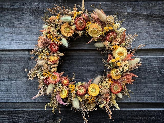 Wreath making season✨You can find these in our farmstand!