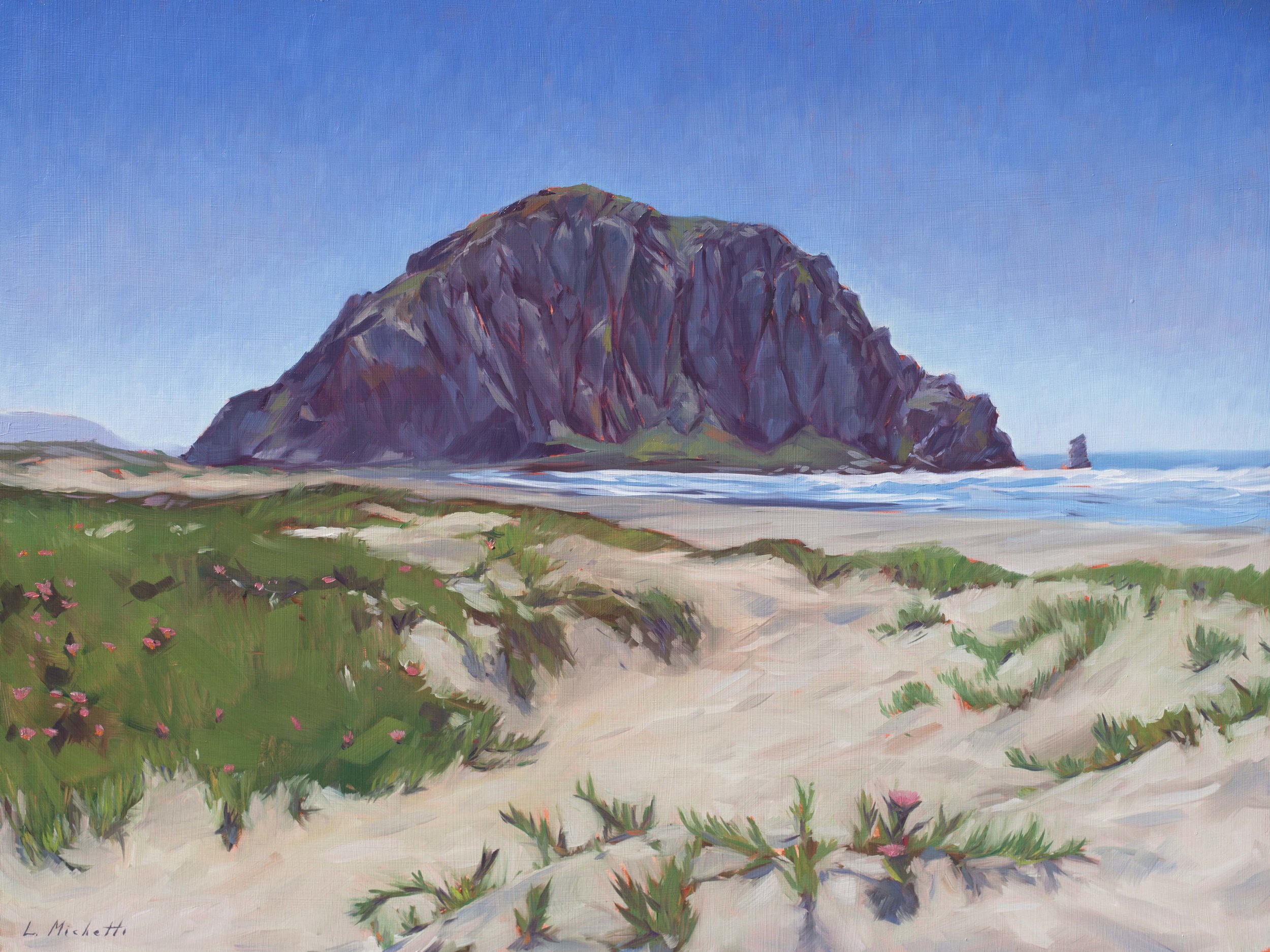 Morro Rock - 18x24 - Michetti.jpg