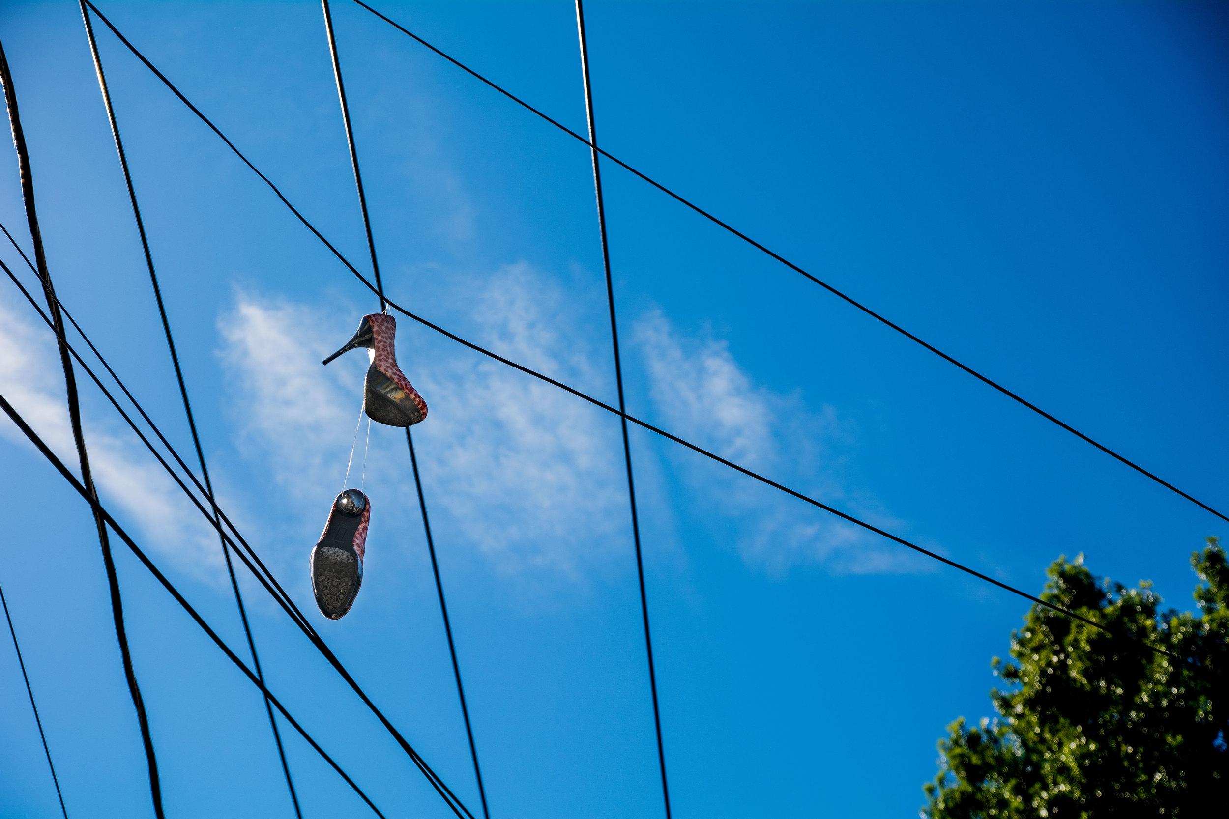 Sky Blue High heels