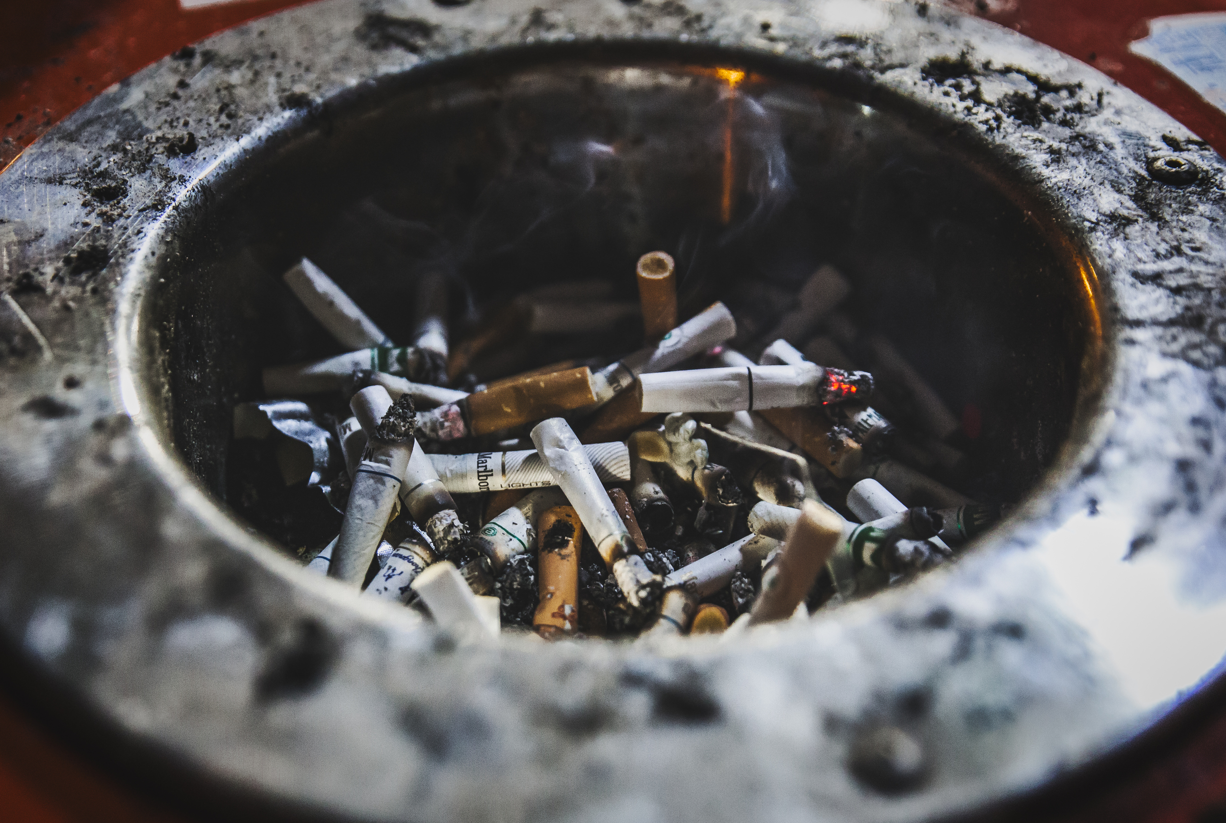 Smoking the Golden Week away